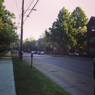 morning street